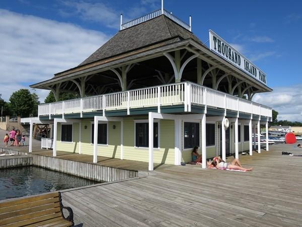 Thousand Island Park dock