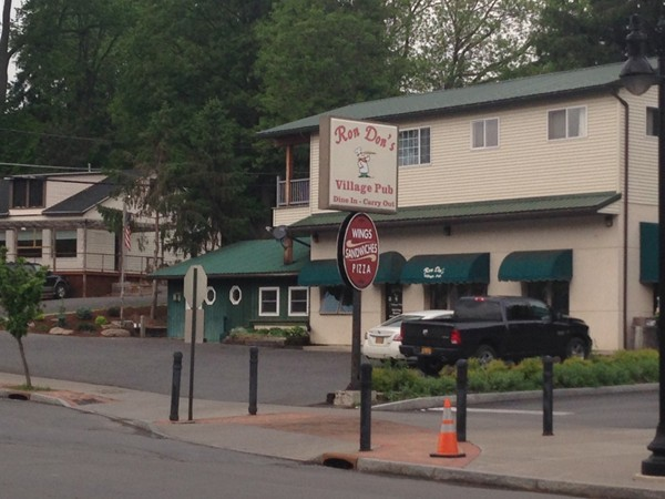 Ron Don's restaurant and bar. A Trumansburg icon