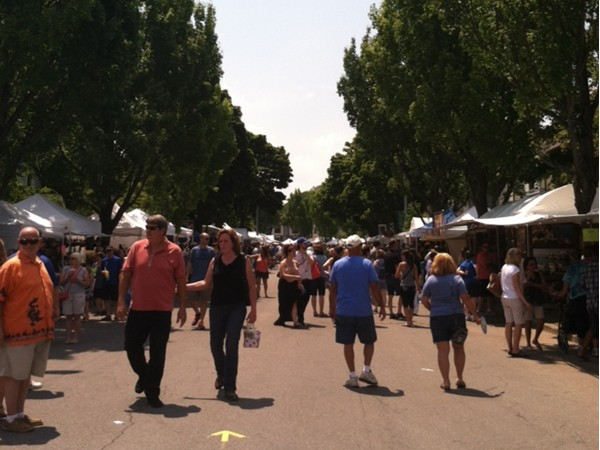 The popular Corn Hill Arts Festival in July!