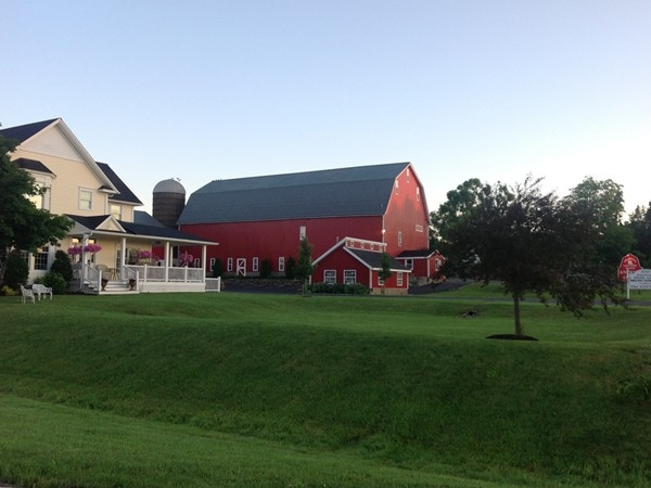 Shawnee Country Barn Antique Co-op and White Linen Tea House in Wheatfield