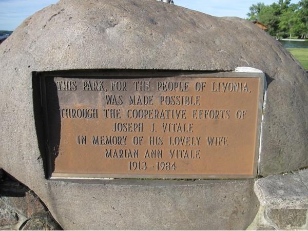 Vitale Park- In Memory of....