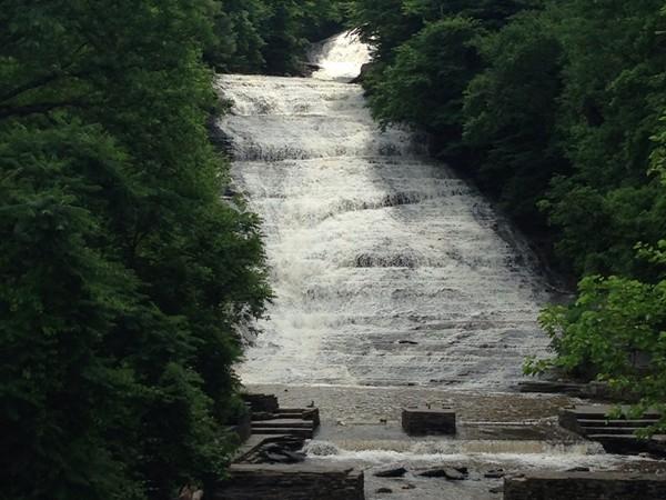 Buttermilk Falls after a good rain