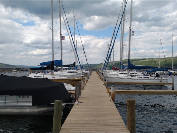 The Village Marina in Watkins Glen is the perfect place to keep your boat