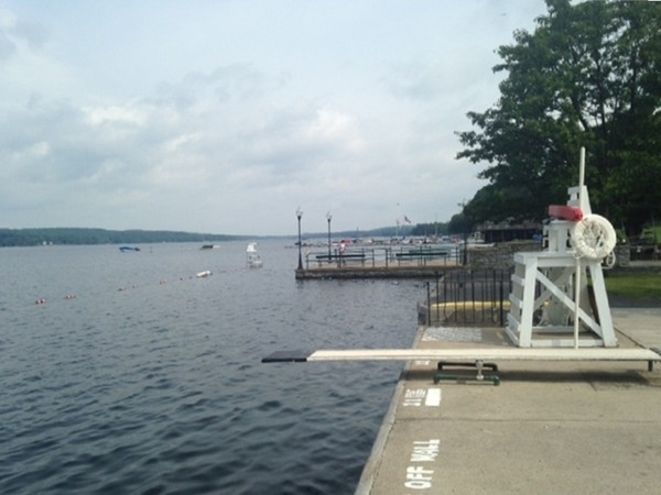 The Pier at Cazenovia Lake