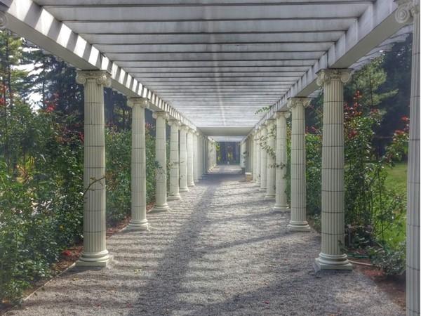 Take a beautiful walk through Yaddo Gardens