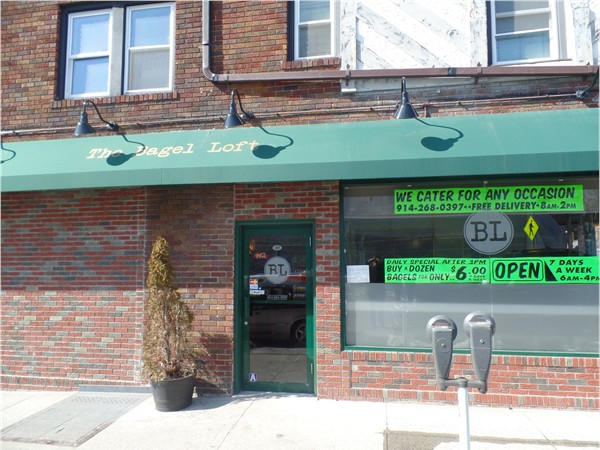 Great Deli in Eastchester -- The Bagel Loft, located right next to the Crestwood Train Station