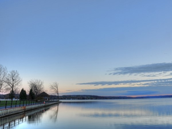 Conesus Lake is the western-most lake of the Finger Lakes