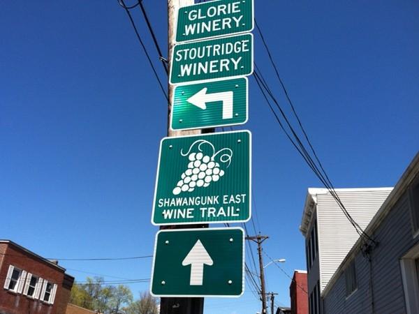 Springtime is the official start of the local wine-tasting season. Trail runs through Marlboro, NY