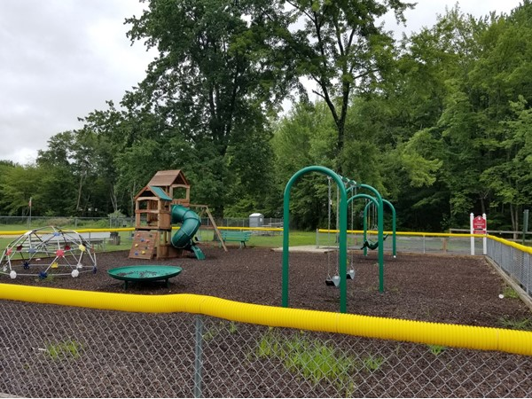 The playground at Stonegate Park