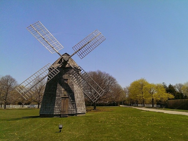 Historic Corwith Windmill at the Village Green - Water Mill