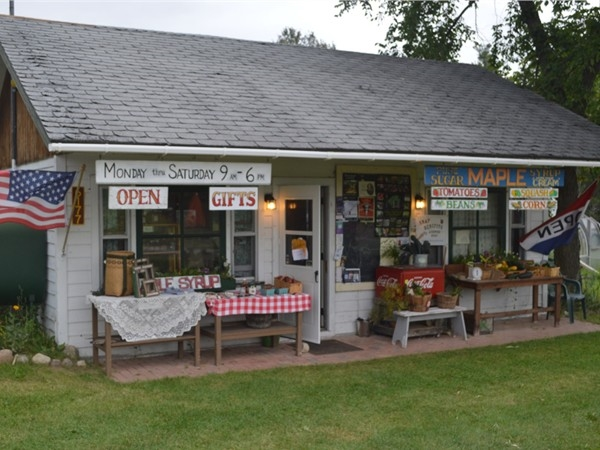 Lots of country charm at this little gift store and farmers stand in Wilmington