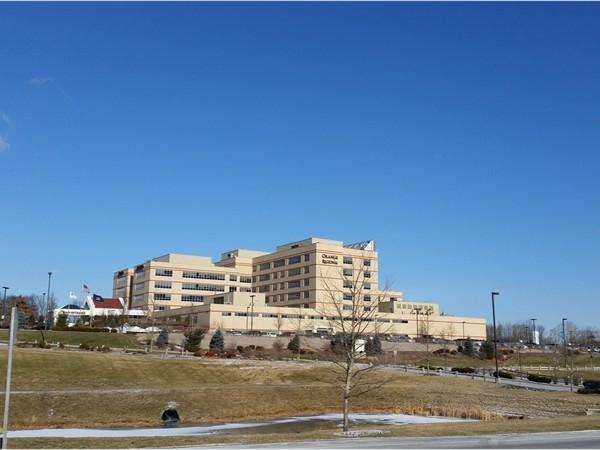 Orange Regional Hospital has a great staff