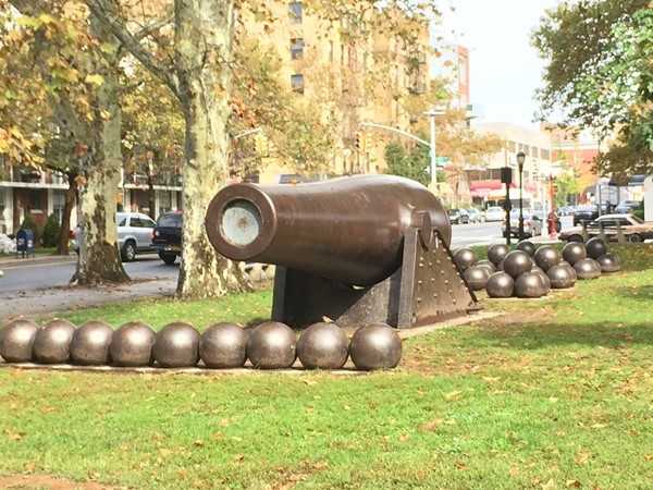 John Paul Jones Park, aka Cannonball Park in Bay Ridge