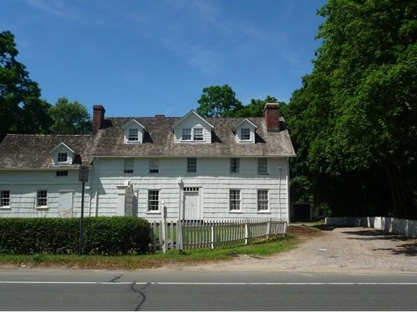 Turn of the century farm house on Main Street Smithtown