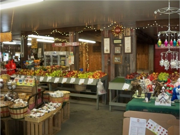 Pick from over 30 varieties of apples at Shutt's Farm Market in Penfield