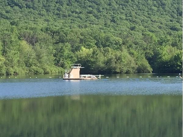 Earl Reservoir in Woodbury