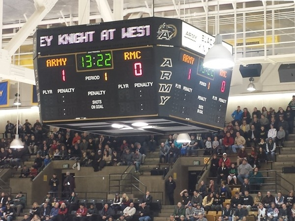 West Point Hockey. A great family night