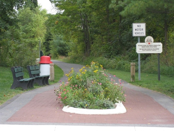 Rail Trail in Shawangunk to Walden. Great for walking or bike riding for all ages
