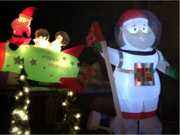 Watts Christmas display