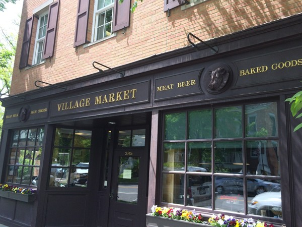 The market in Aurora is in the center of the Village and easy to walk to from any home.