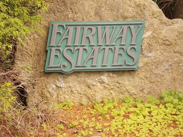 Welcome to Fairway Estates