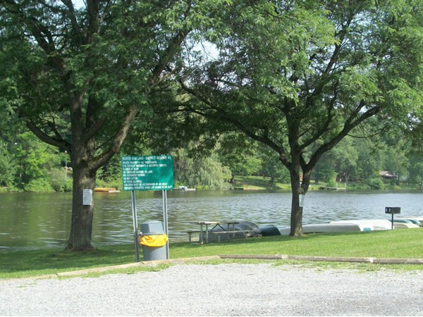 Boat launch at Beaver Dam Lake!