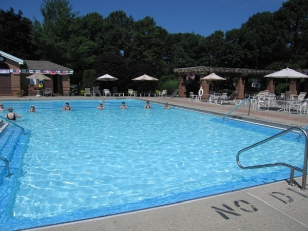 Inviting pool at Leisure Glen