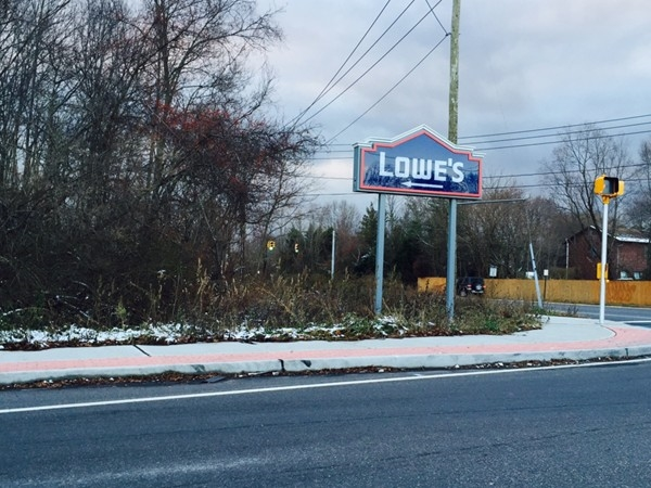 Lowes off Commack Road
