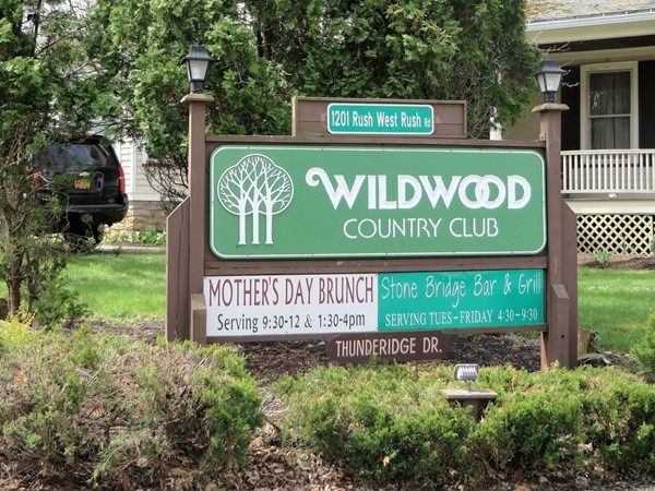 Wildwood Country Club in Rush