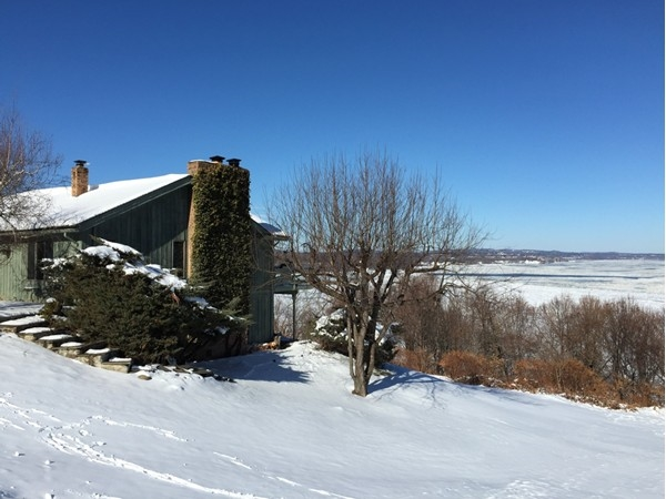 Spectacular Hudson River views from many of the homes on Grandview