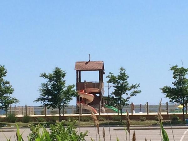 Splash Park - children love it during the summer