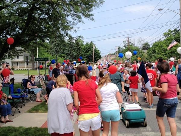 Memorial Day Parade in Woodbury