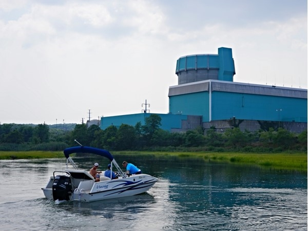 Nuclear Power Plant. You can't get closer to any other nuclear plants