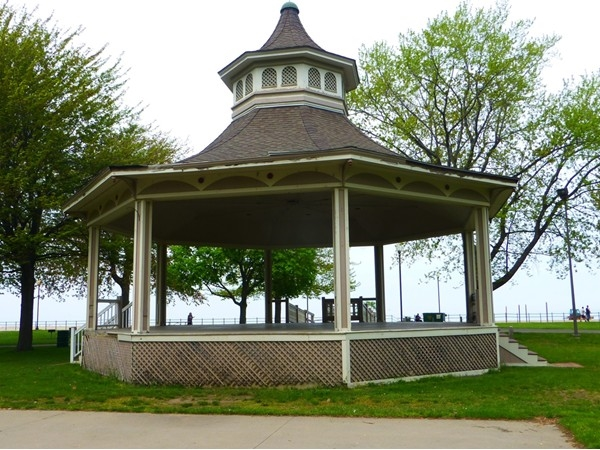 Summertime concerts by the lake in the gazebo. Many local groups including our philharmonic.
