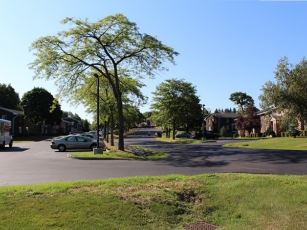Street view of Barnett Hills Condominiums