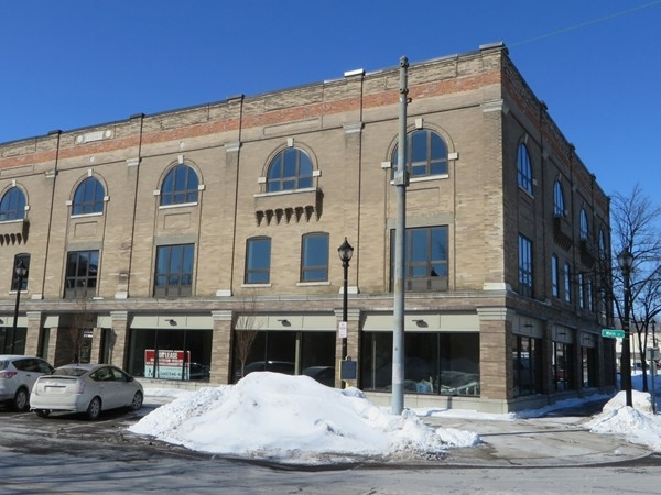 Eyer Block was started in 1899 on Main Street in East Rochester