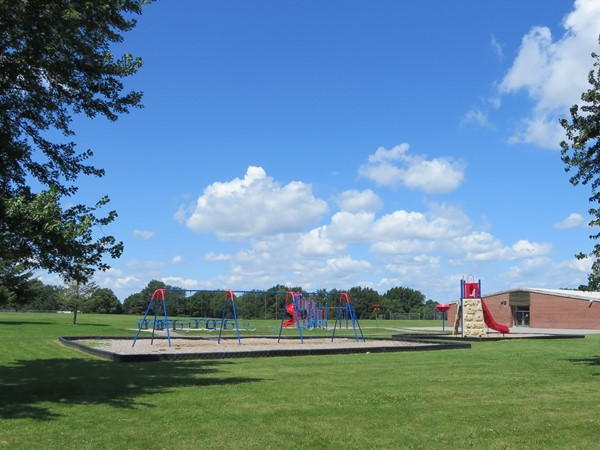 The playground at the Winslow Elementary School on Pinnacle Road in Henrietta