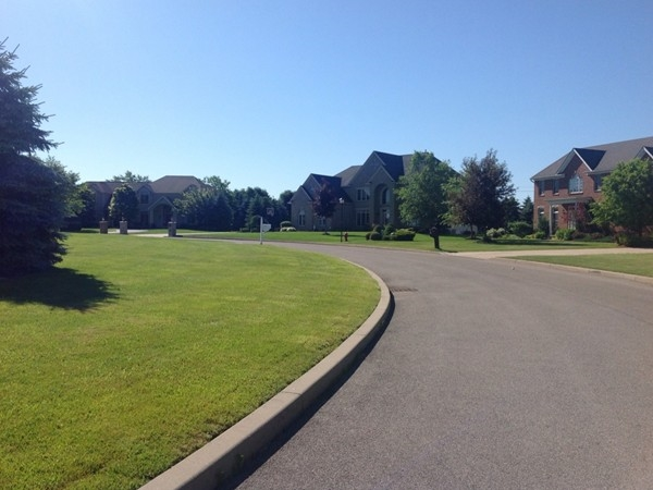 Spacious lots in the Loch Lea Estates of Clarence. Beautiful homes