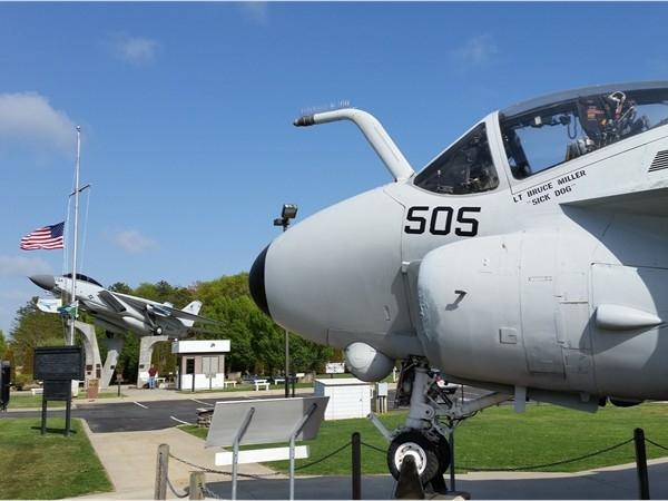 A piece of planes building history. Grumman