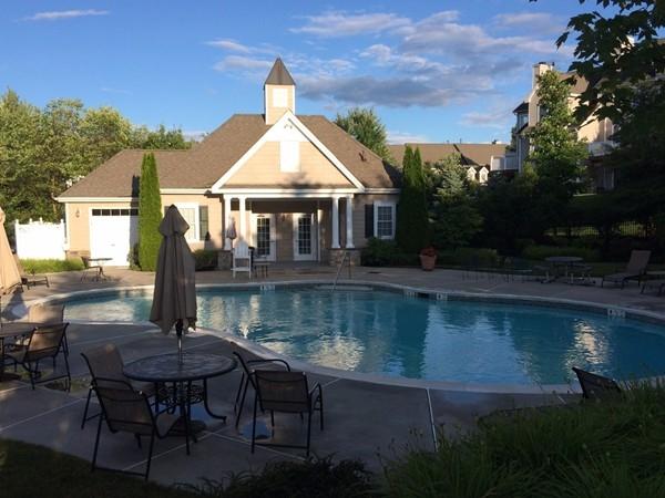 Pool at Mansion Ridge