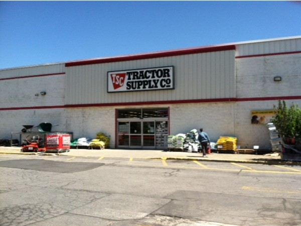 Tractor Supply in Highland NY.  A farmer's convenience store