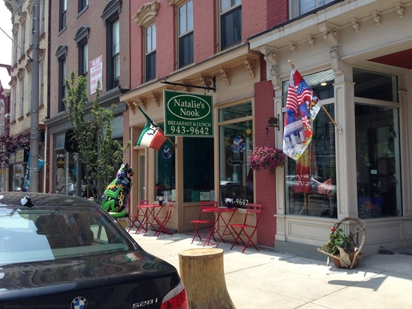 Visit Natalie's Nook for a delicious deli meal. A favorite local restaurant!