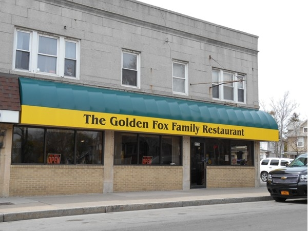 The Golden Fox on the corner of Parsells and Culver - best meal in town!