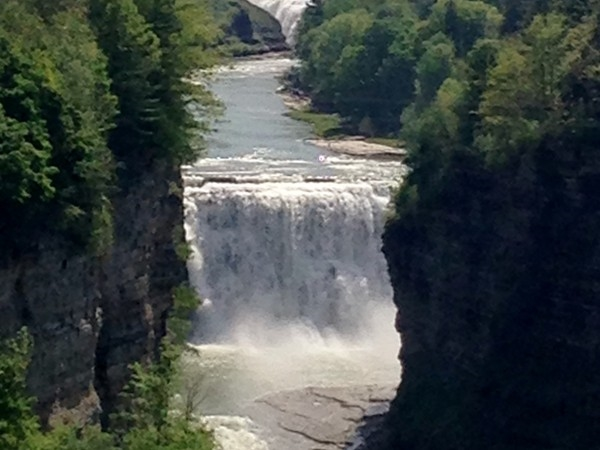 A hike along the west rim of the gorge in Letchworth offers great views!