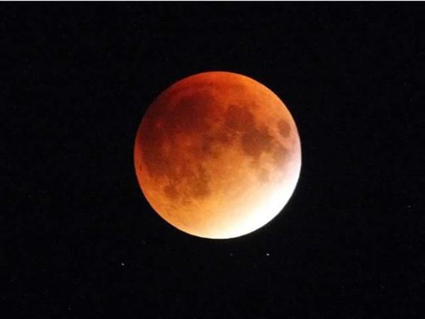 Moon eclipse. September 28th, 2015. Taken from Atlantic Beach