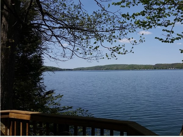Otisco Lake offers a picture perfect view