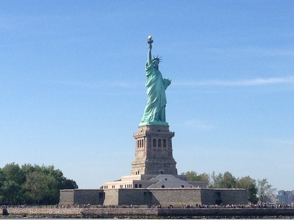 The Statue of Liberty is just across the bay. Take the family out for a fun day of sight seeing.