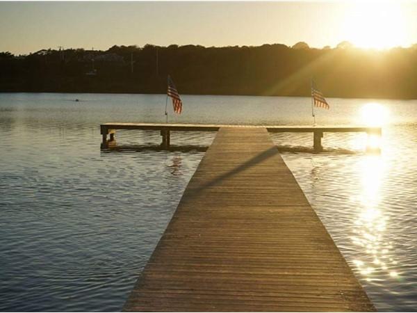 Sunset on Fort Pond, Montauk