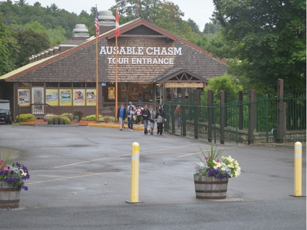 Ausable Chasm. A fun family place to visit