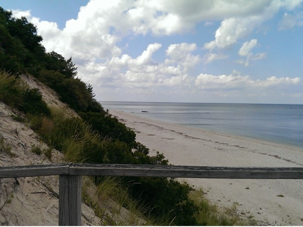 Private beach overlooking Long Island Sound